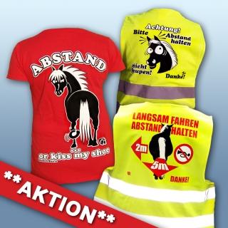 AKTIONS-Paket 2x Warnwesten & 1x T-Shirt