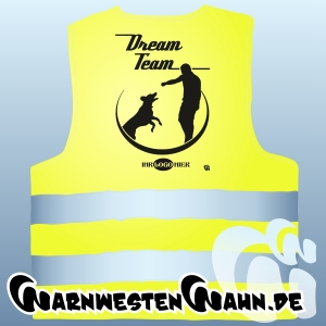 BG-Motiv HUNDE-004 Dream-Team in action