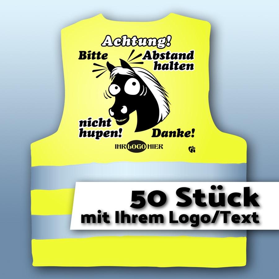 Warnweste02-Achtung mit LOGO/Text